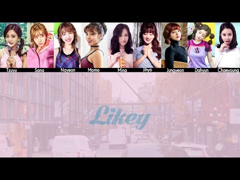 TWICE - LIKEY MV + Lyrics Color Coded HanRomEng