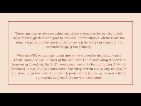 All You Need To Know About Rarbg Download