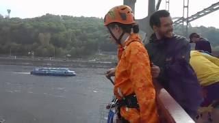 Экстрим Без Меж Роупджампинг прыжок с моста Киев