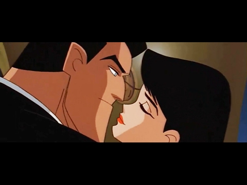 Bruce Wayne steals Lois Lane from Clark Kent [HD]