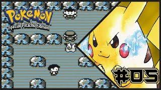 Pokemon Yellow Walkthrough Part 5: Pewter City Gym Battle #1: Brock