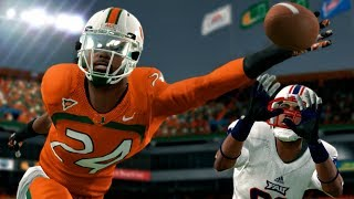 CRAZY ONE-HANDED USER PICK BY FLASHBACK BRIDGES! NCAA 14 Road to Glory Gameplay Ep. 45