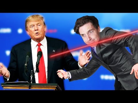MAN SAVES DONALD TRUMP FROM ASSASSIN! (Mr President)