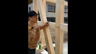 Holznagel einschlagen