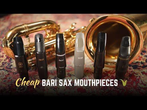 $19 For A Bari Sax Mouthpiece!? - Comparing Cheap Baritone Saxophone Mouthpieces