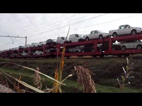 Mixed Freight Train at America,Limburg,the Netherlands,Nov 2,2011