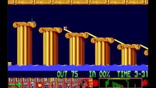 Lemmings - Tricky - Atari ST [Longplay]