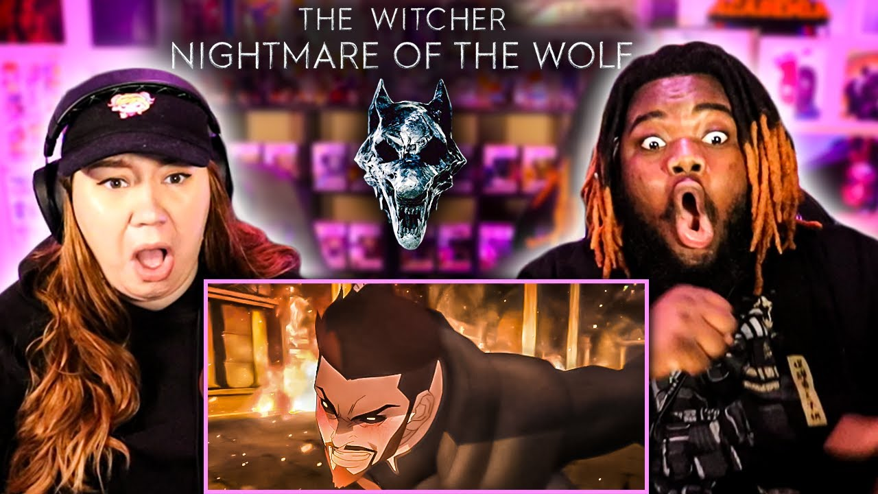 Download The Witcher : Nightmare Of The Wolf MOVIE REACTION & REVIEW!