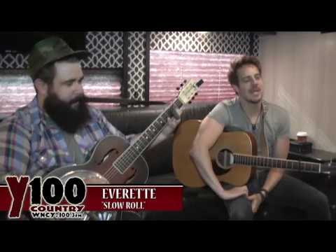 "Everette - ""Slow Roll"" Live at Y100"