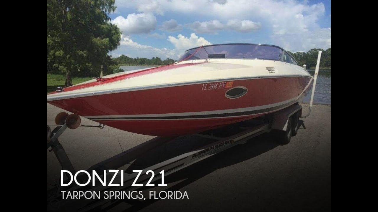 [UNAVAILABLE] Used 1988 Donzi Z21 in Tarpon Springs, Florida