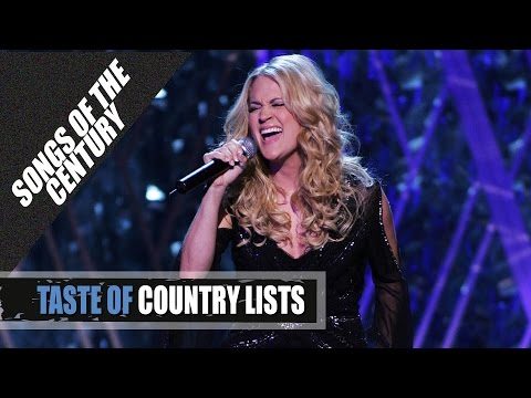 "Carrie, Underwood, ""Jesus Take the Wheel"" - Top Country Songs of the Century"