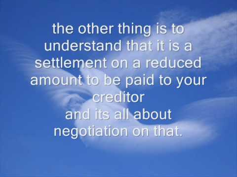 Debt Settlement Program - The best Way to get out of Debt
