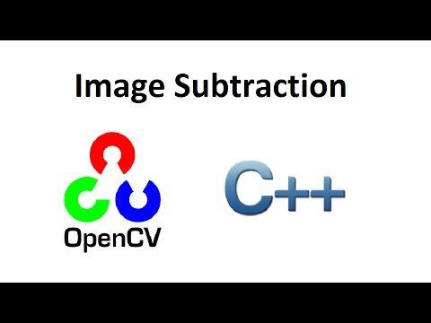 OpenCV 3 Image Subtraction C++