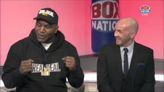 Evander Holyfield discusses becoming Heavyweight World Champion