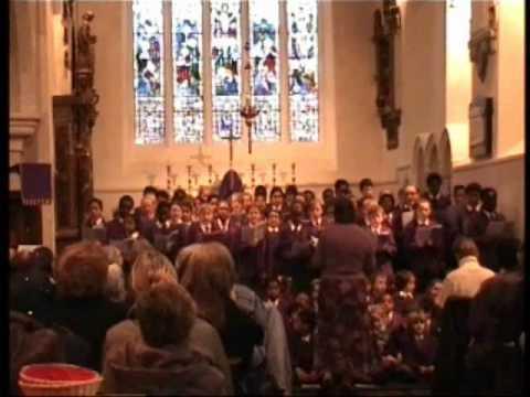 Love Shone Down - Dr Triplett's Choir, Christmas 2009