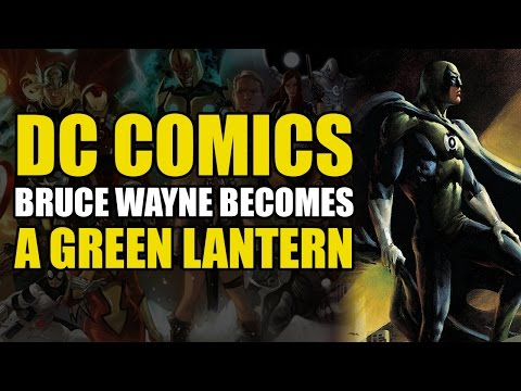 Batman & The Justice League Become Green Lanterns (DC Elseworlds: In Darkest Knight)