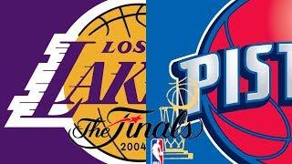 NBA Inside Drive 2004 - Xbox 2003 (2004 NBA Finals DET vs LAL)