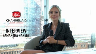 Pre-Concert Interview with Samantha Harvey at Channel Aid - live in Concert at Elbphilharmonie