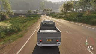 Forza Horizon 4 - 1966 Volkswagen Double Cab Pick-Up Gameplay [4K]