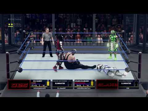 WWE'2K18 vs [xSLNx] xSLNx-DReCoNsTyLe / Roman Empire & El_chapa567