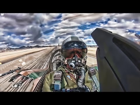 64th Aggressor F-16s & Aerial Cockpit View • Red Flag 2019