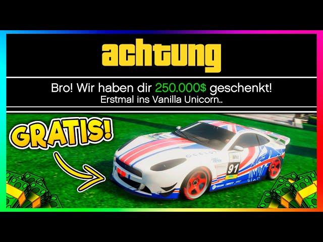 😍 GRATIS WERKSTATT + 250.000$ + GRATIS AUTO! NEUE EVENTWOCHE IN GTA ONLINE! 😍