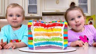Breakfast Song Nursery Rhymes with Five Kids