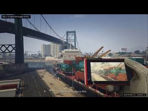 Grand Theft Auto V: Trevor- Scouting The Port