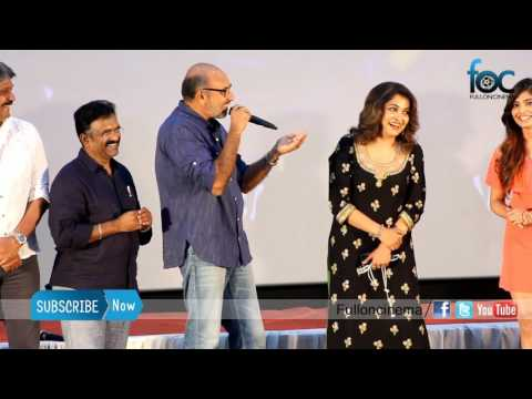 Satyaraj funny speech about ramyakrishnan voice in Bahubali chinese version - Fulloncinema