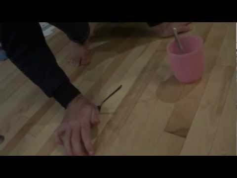 Flipping a spoon into a cup