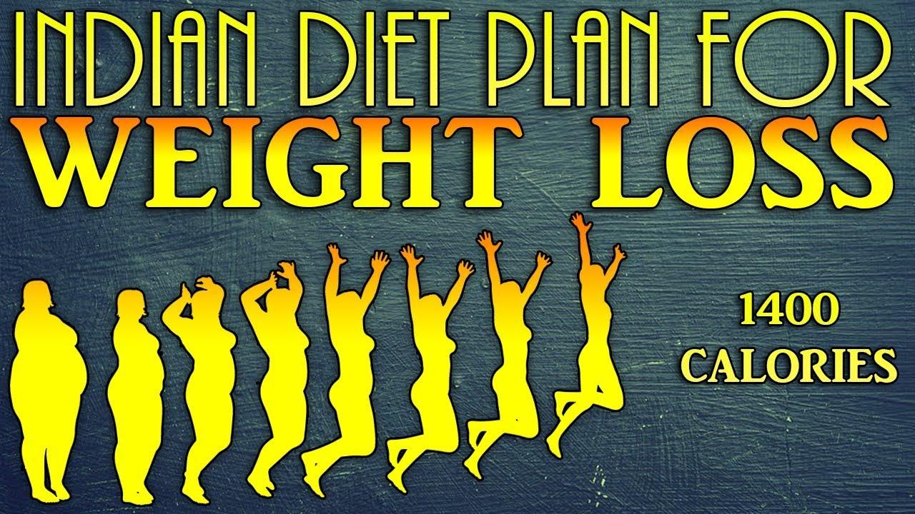 1400 Calories Indian Diet Plan for Weight loss - Dietburrp