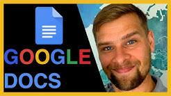 Google Docs esittely ja peruskäyttö -- miten Google Docs toimii?