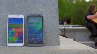 Samsung Galaxy S5 vs HTC One (M8) Dogfight!