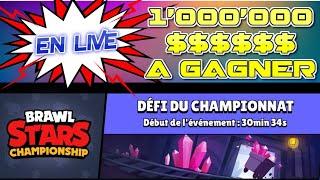 "LIVE BRAWL Stars 2020 CHAMPIONSHIP 1'000'000 TO WIN ""Championship Challenge"" LIVE"