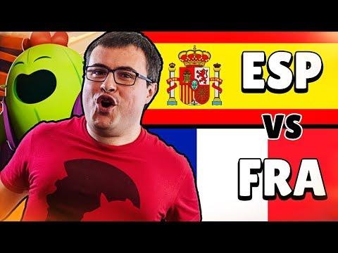 TEAM ESPAÑA (Alvaro845) vs TEAM FRANCIA (TrapaCoC) | Week 4 | Qlash Brawl Stars Invitational