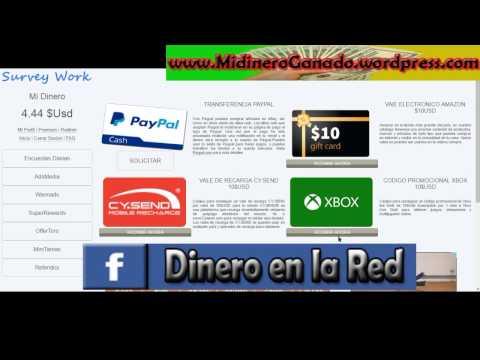 SURVEY WORK ¿Que es y como funciona?  PAGO DE $4.44
