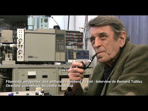Filaments avio: des phthalates tombent du ciel - Interview de Bernard Tailliez