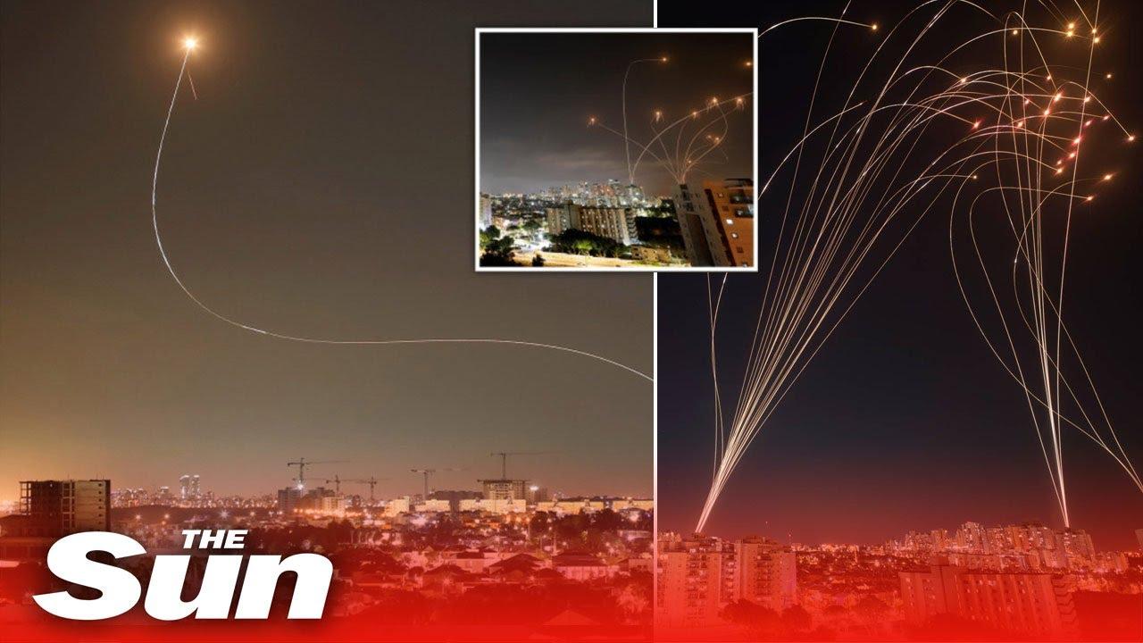 """Izrael i Hamas: Šta su """"Gvozdena kupola"""" i """"Davidova praćka""""?"""