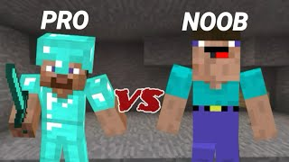 MINECRAFT :PRO VS NOOB (MACHINIMA)