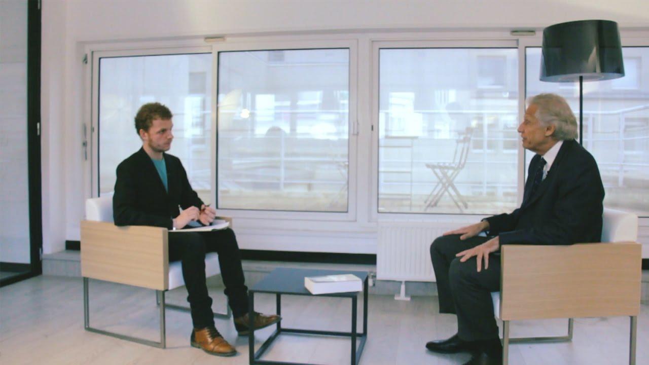 Эксклюзивное интервью. Доминик де Вильпен