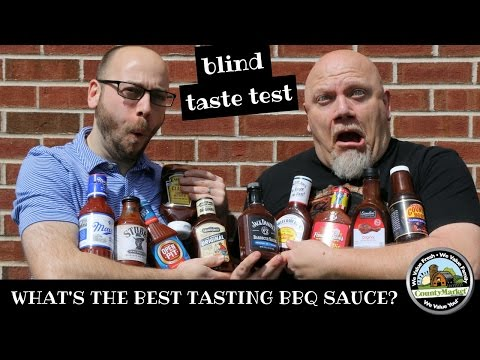 What's the Best Tasting BBQ Sauce? Barbecue Sauce Blind Taste Test