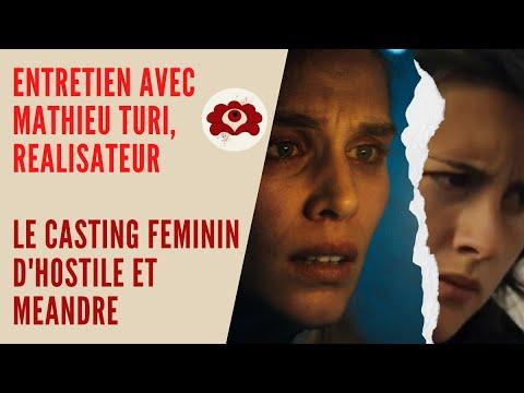 Entretien avec Mathieu Turi, réalisateur/ Le casting féminin dans Hostile et Méandre