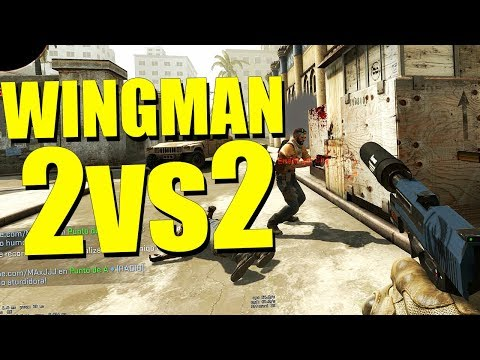 ¡¿GANAR SIN MORIR?! | WINGMAN 2 vs 2 | Counter Strike - Global Offensive thumbnail