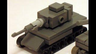 LEGO micro панцер 4 інструкція 1:100