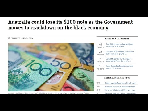 RTD News: War On Cash In Australia - $100 Note Ban Considered