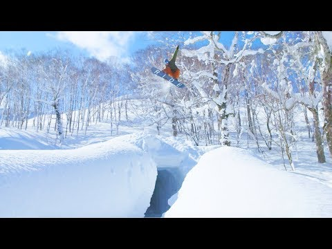 Back Country Snowboarding Japan