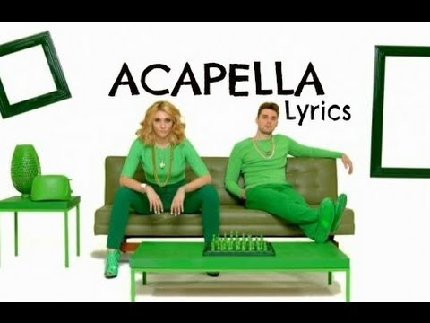 KARMIN Acapella Lyrics Video HQ