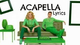 KARMIN Acapella Lyrics Video HQ
