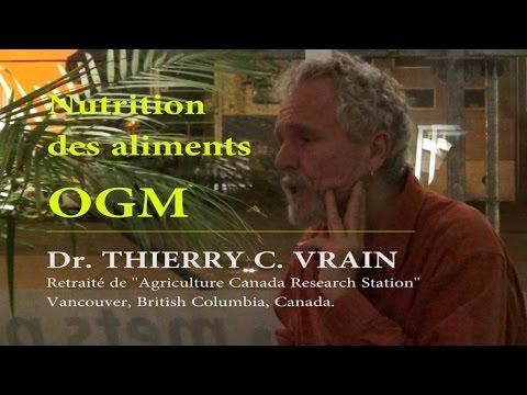 Nutrition des aliments OGM.