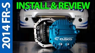 Video Cusco LSD and Diff Cover - 2014 Scion FR-S Install/Review download MP3, 3GP, MP4, WEBM, AVI, FLV Agustus 2018